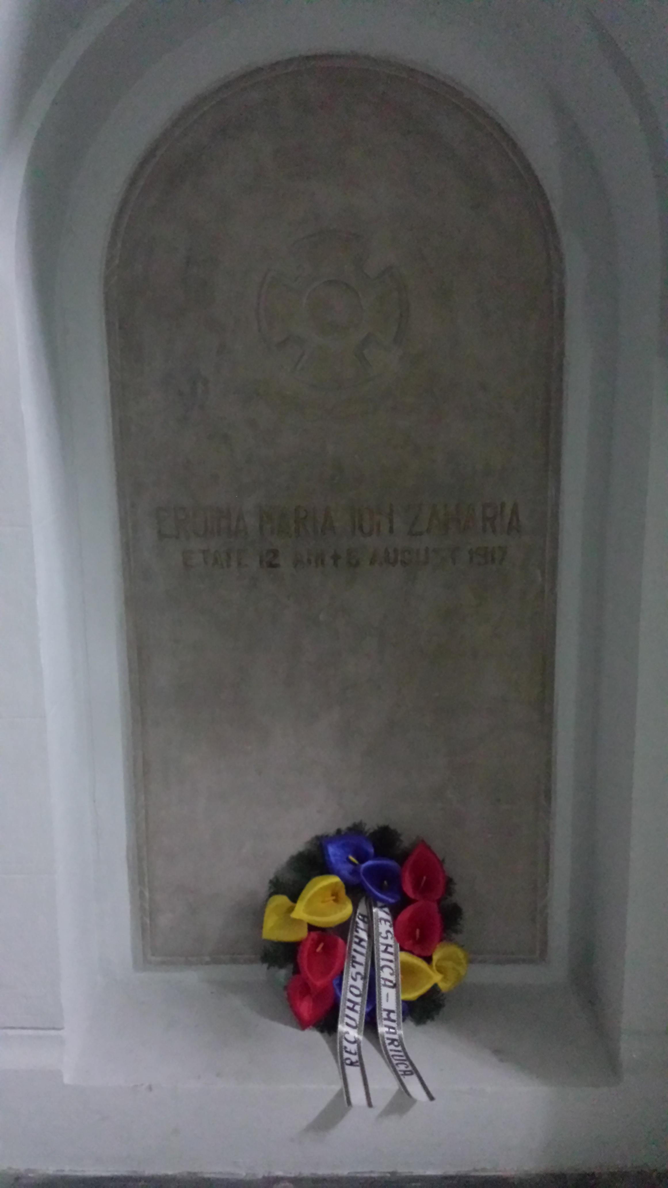 Piatra funerară a Măriucăi