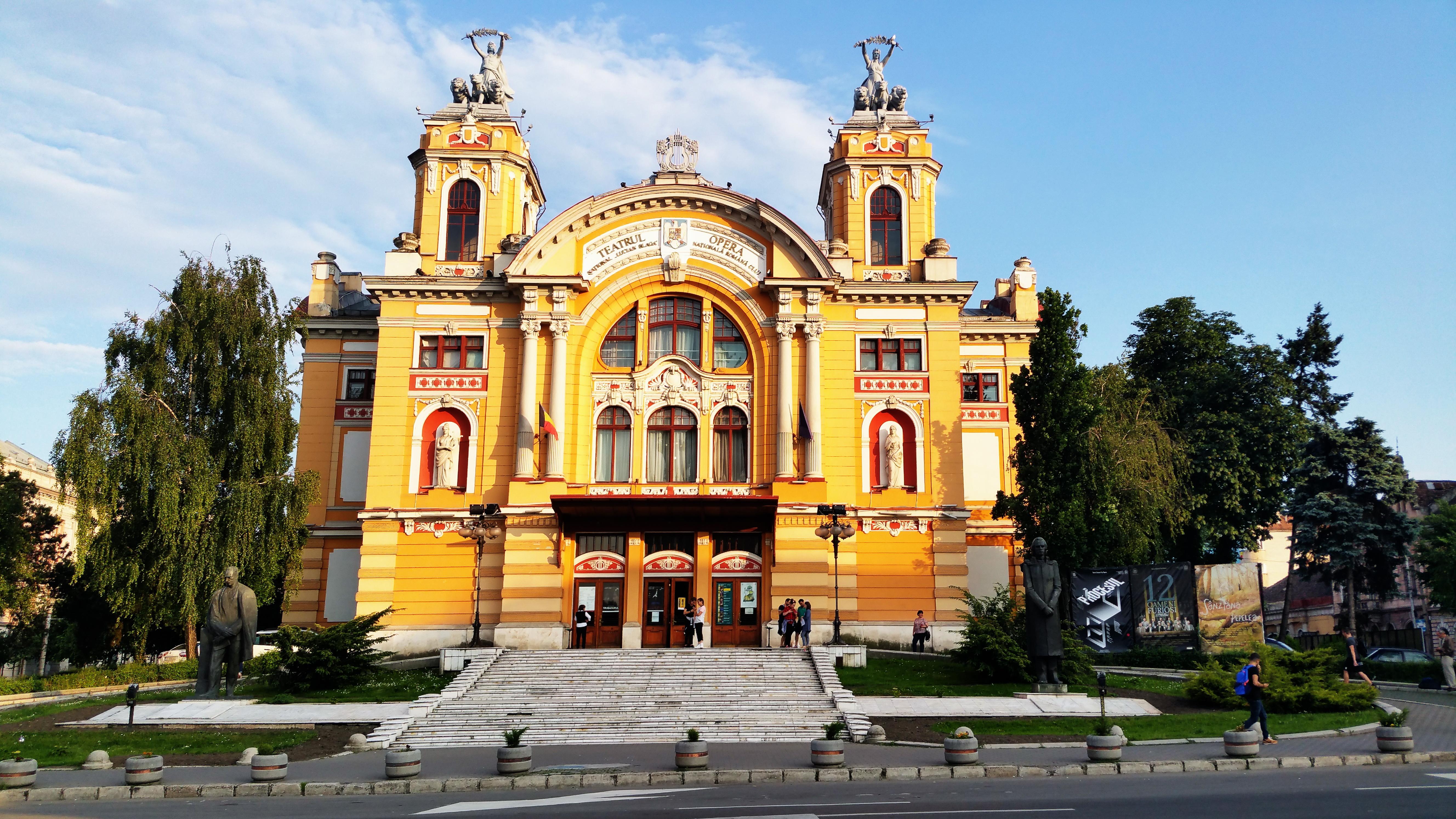 Teatrul şi Opera Naţională. Cluj.