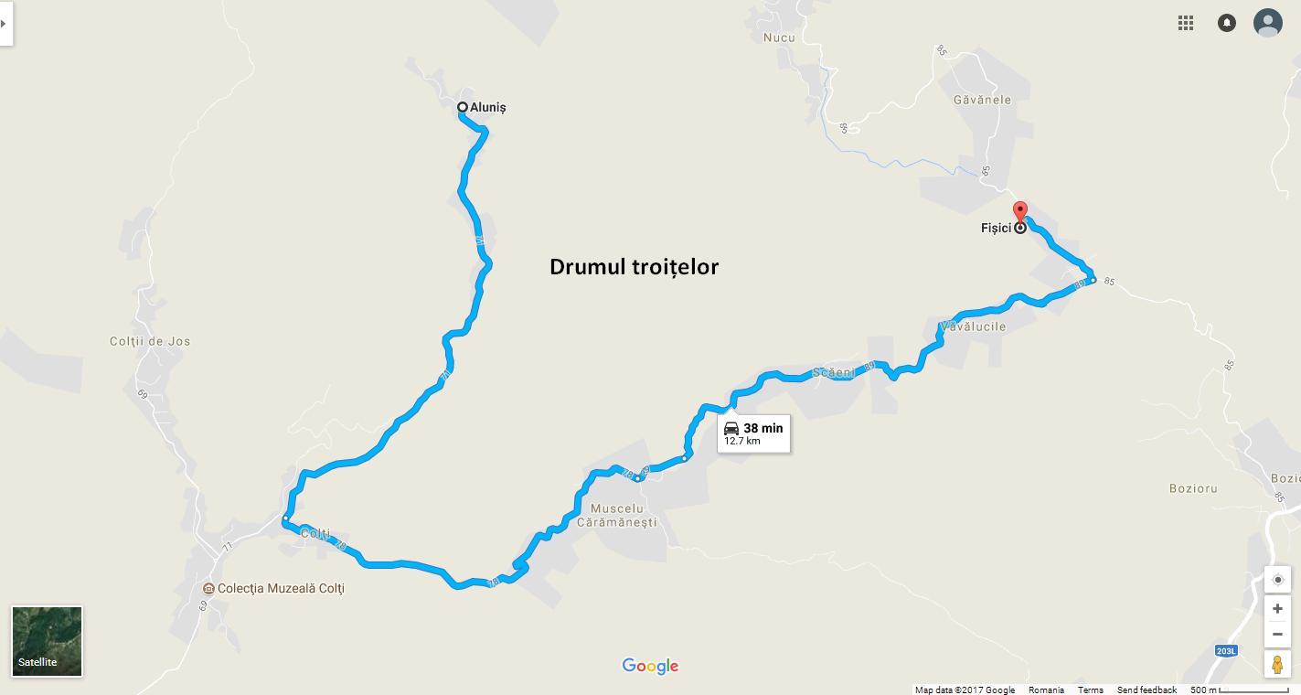 Drumul Troiţelor