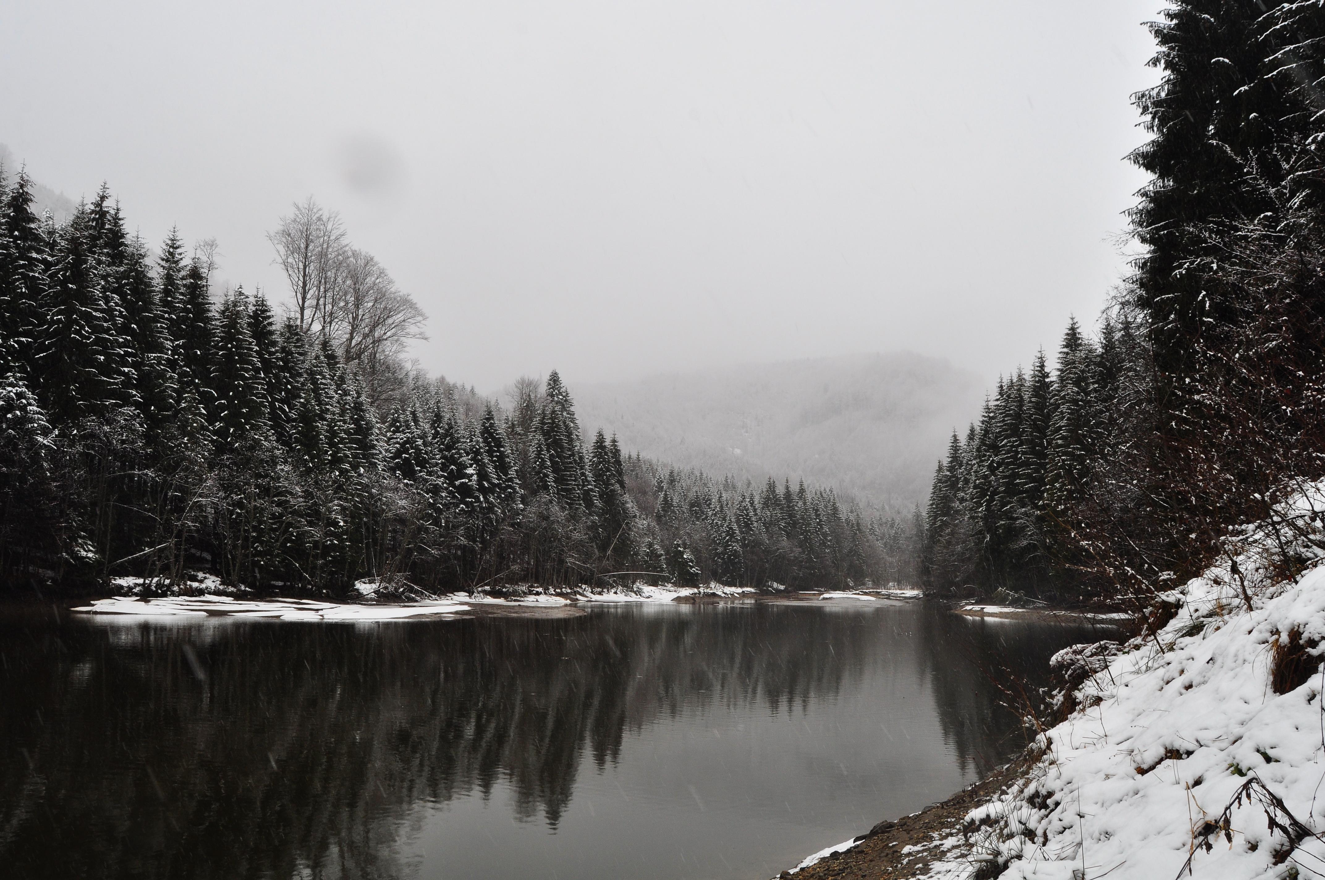 Lacul Vâlsan - decembrie 2017