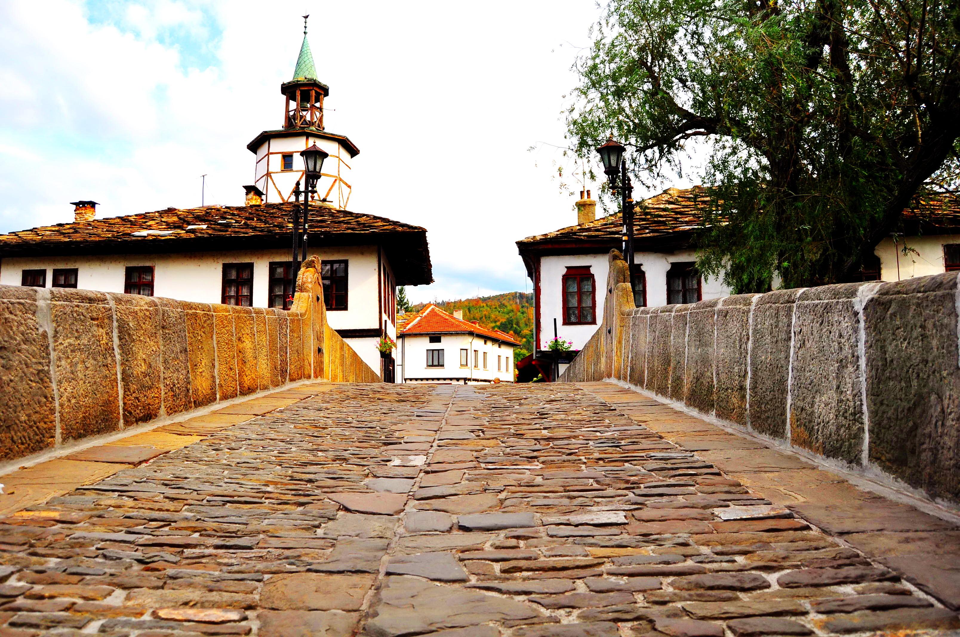 Turnul cu ceas. Tryavna. Bulgaria