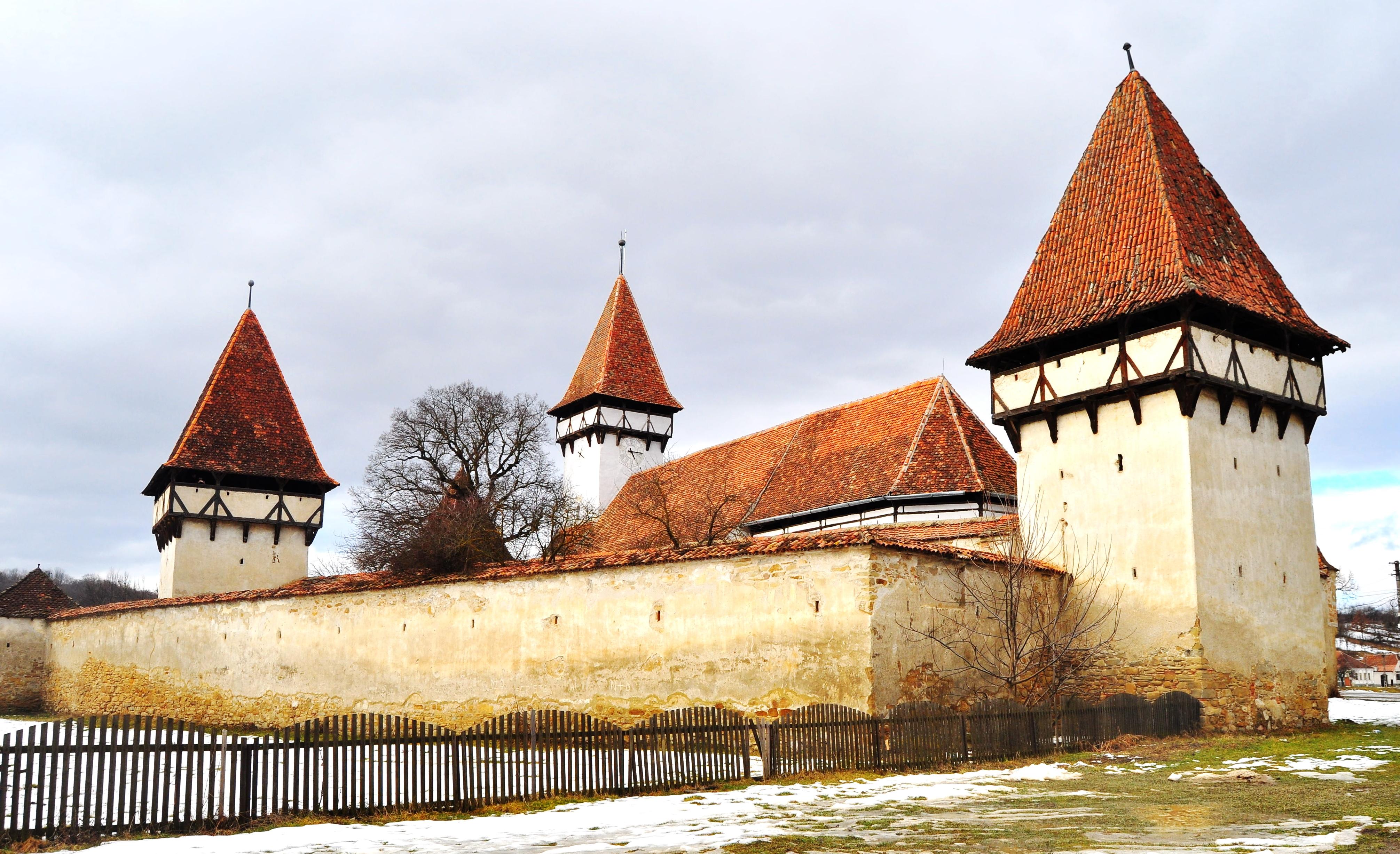 Biserica evanghelică fortificată din Cincşor