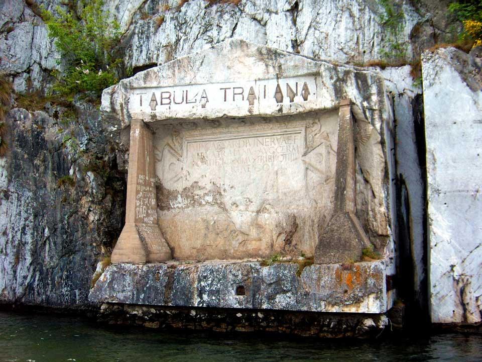 Tabula Traiana - via www.decebalusrex.ro