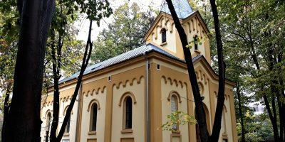 Capela Cimitirului Calvin din Bucureşti