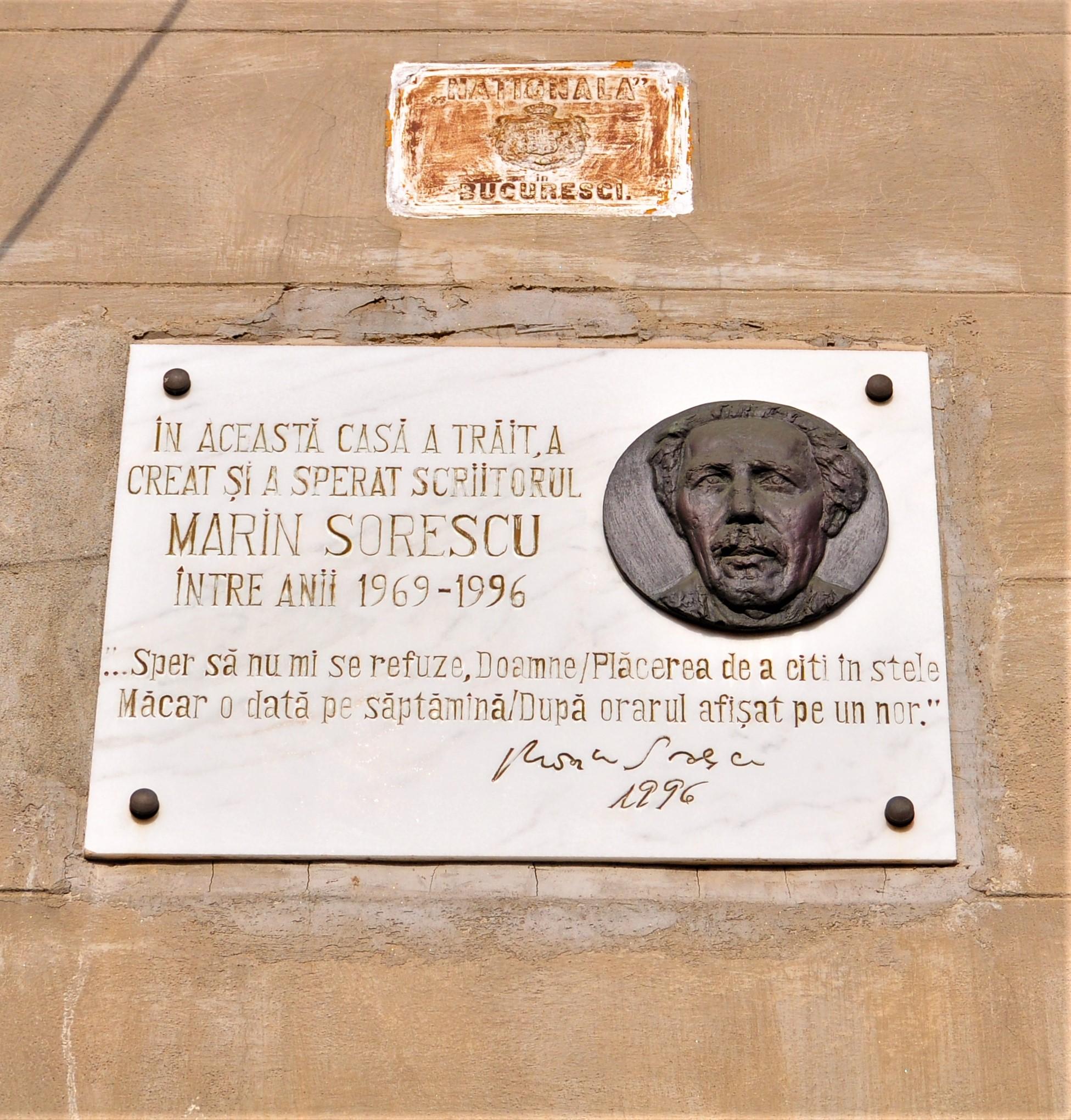 Casa lui Marin Sorescu - Strada Grigore Alexandrescu