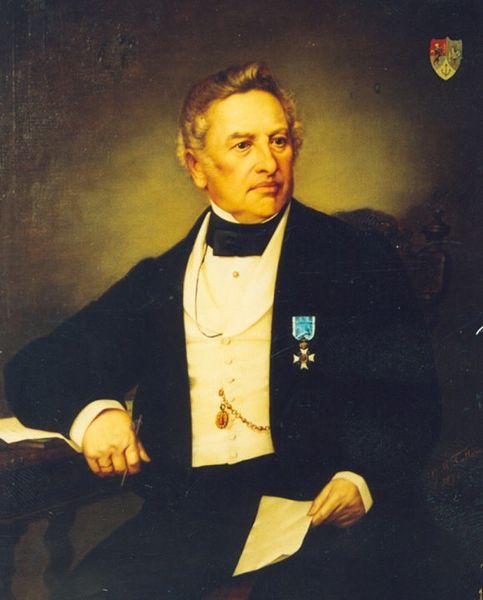 Gheorghe Tattarescu - Portretul lui Scarlat Petrovici Armis