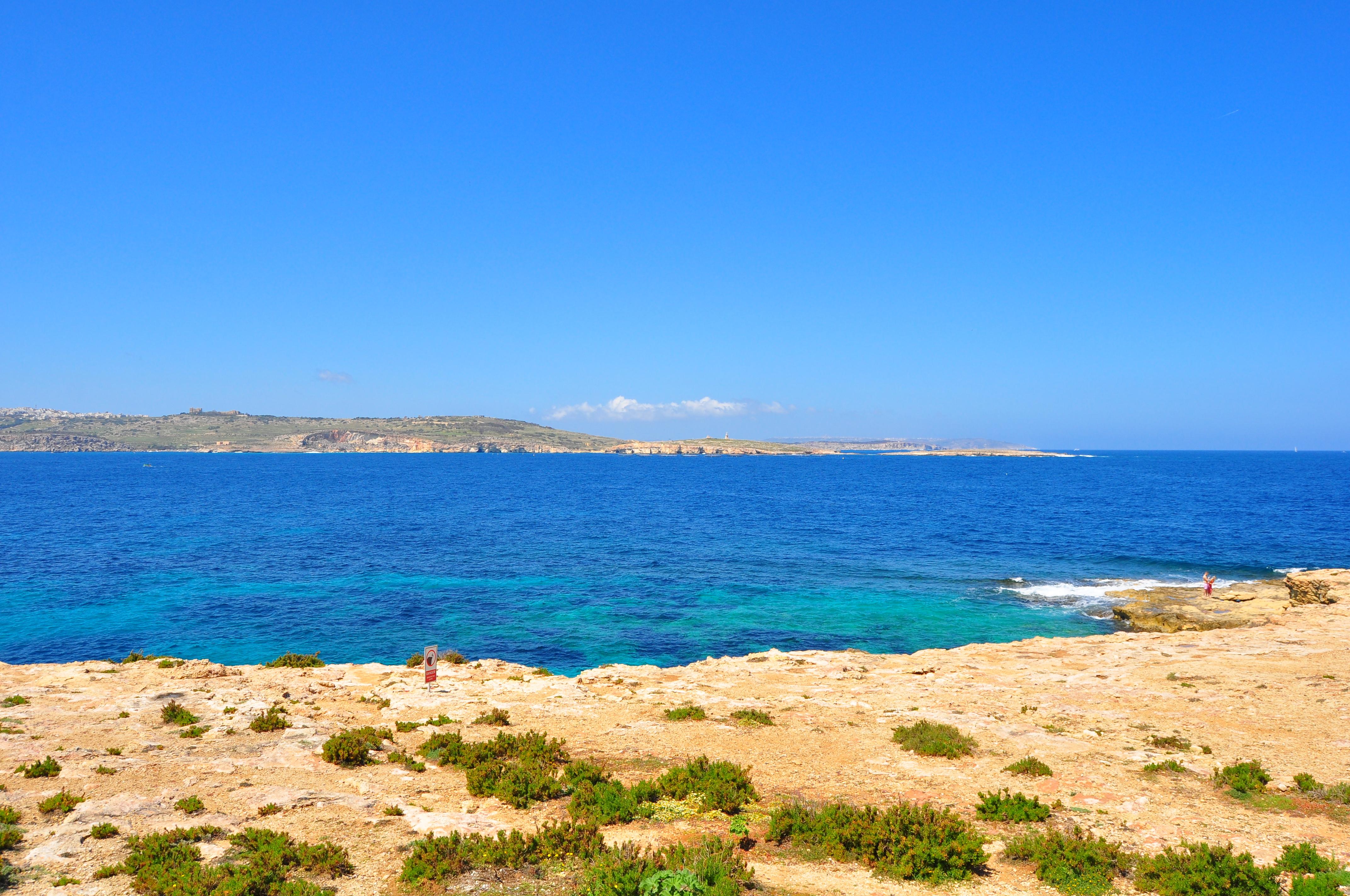 Vedere din apropierea Acvariului Naţional din Malta