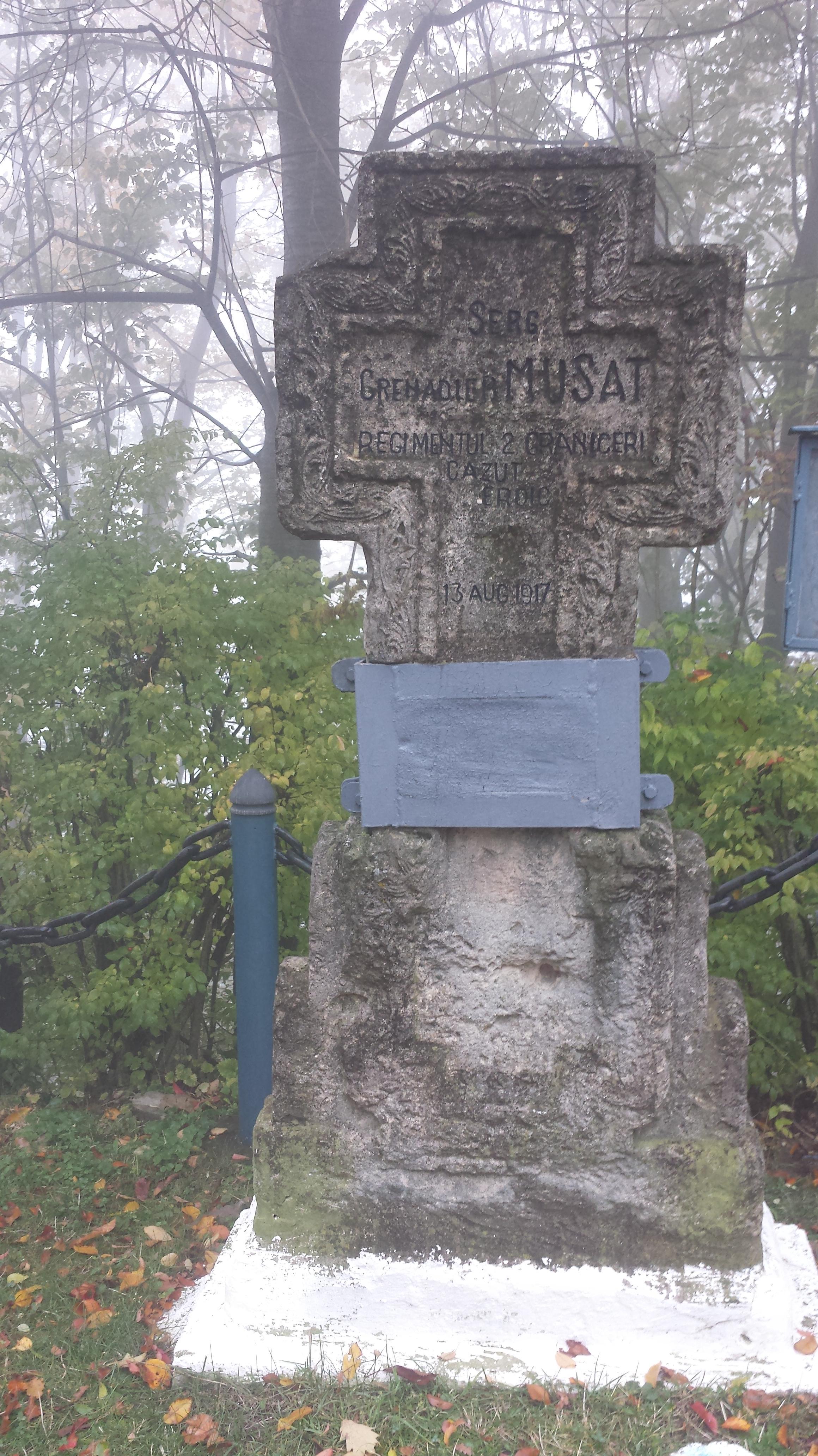 Crucea grenadierului Muşat