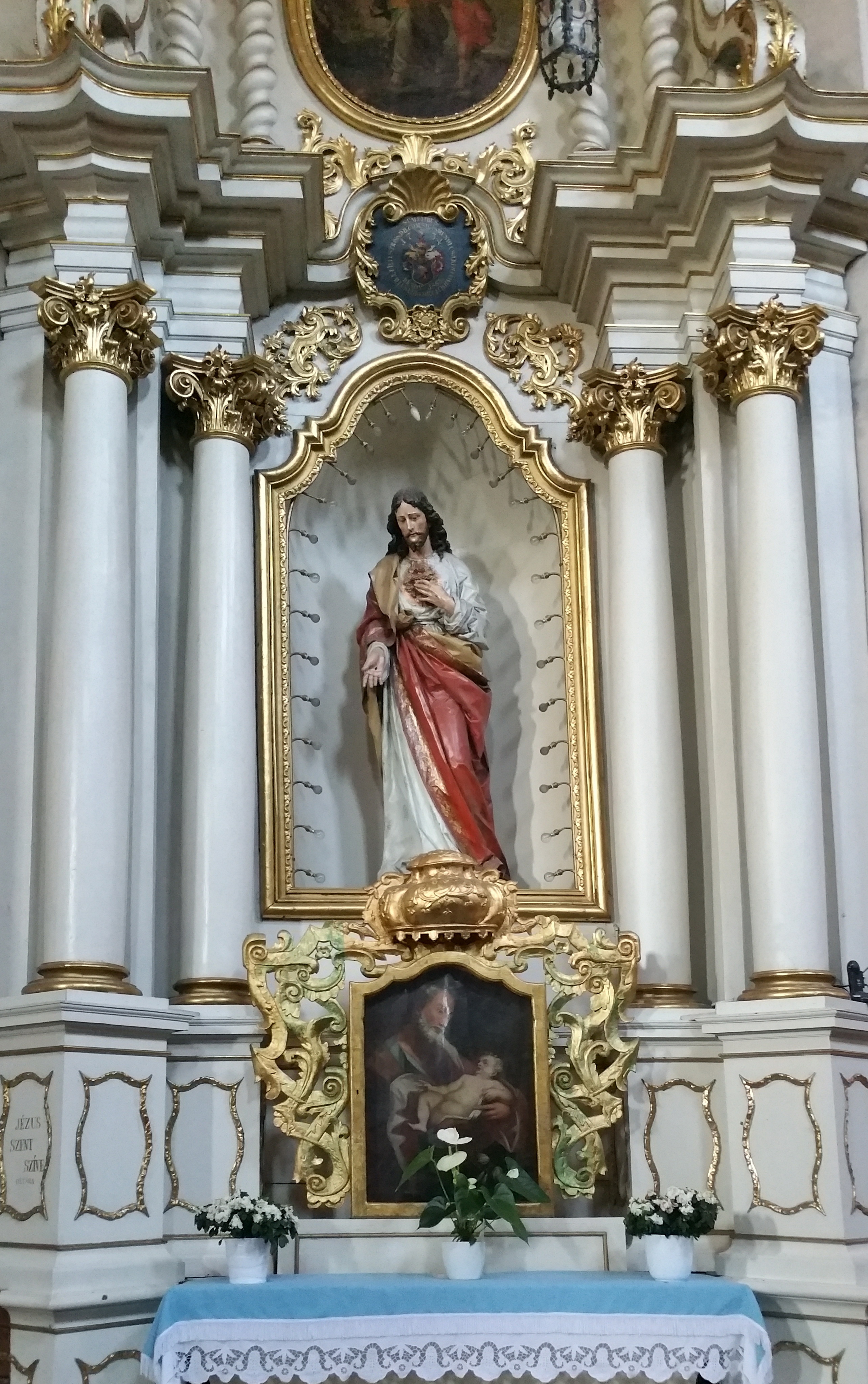 Interior al Bisericii Franciscane
