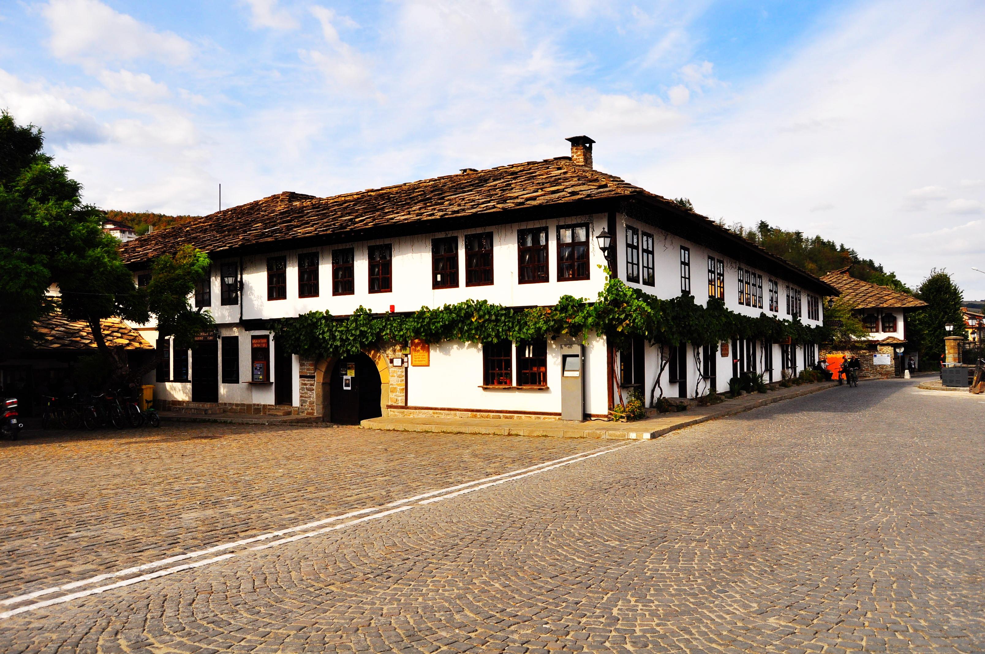 Şcoala veche din Tryavna, simbol al Renaşterii bulgare.
