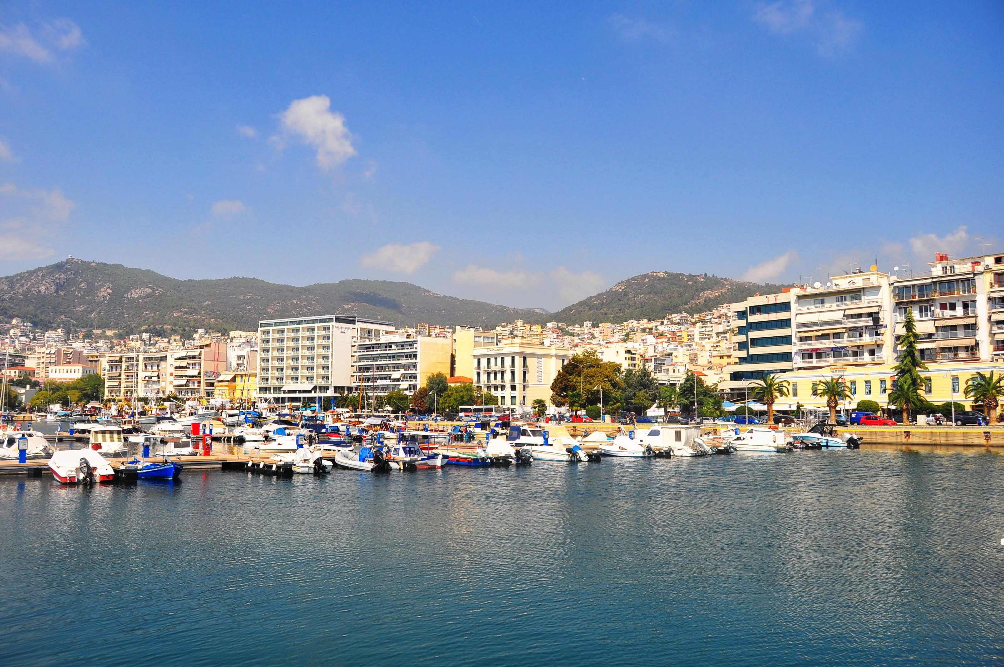 Portul din Kavala