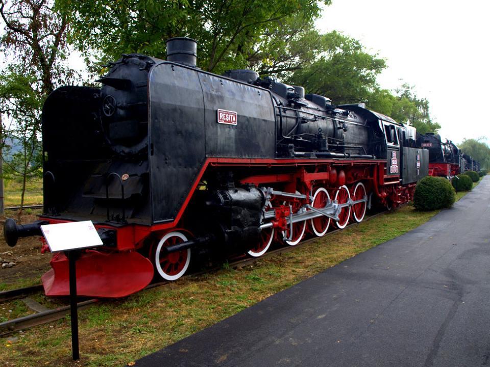 Muzeul de Locomotive cu Abur Reşita via www.banatulazi.ro