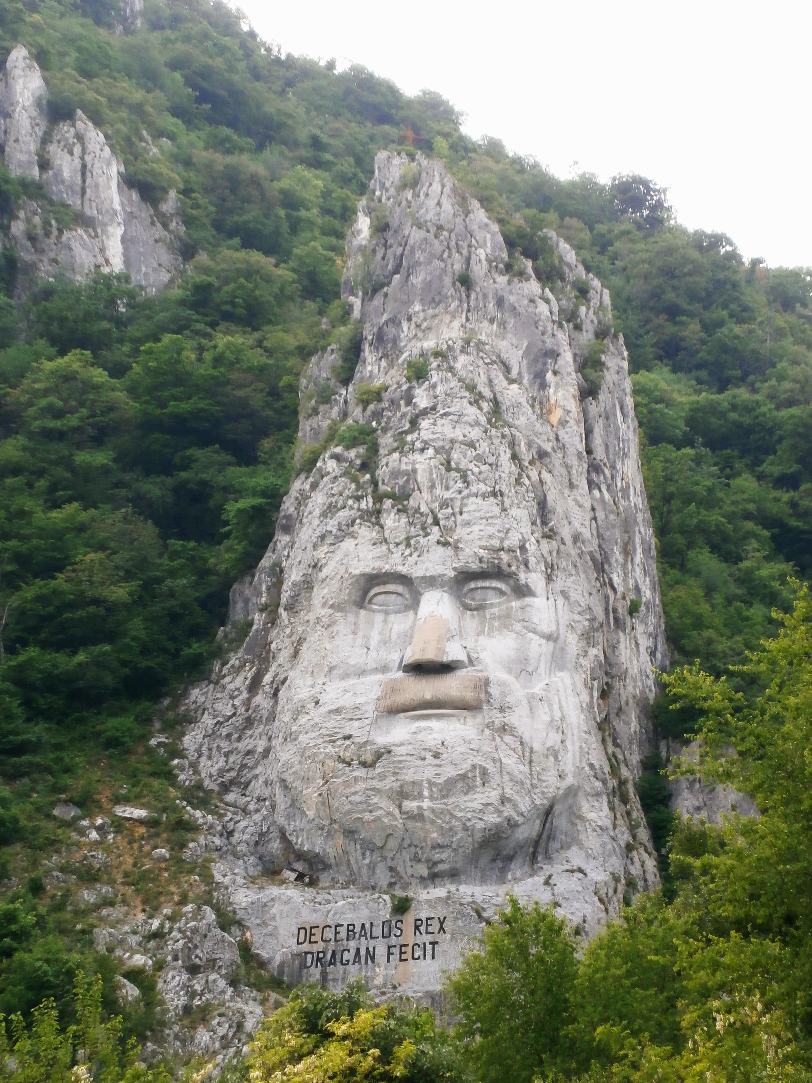Chipul lui Decebal - Defileul Dunării