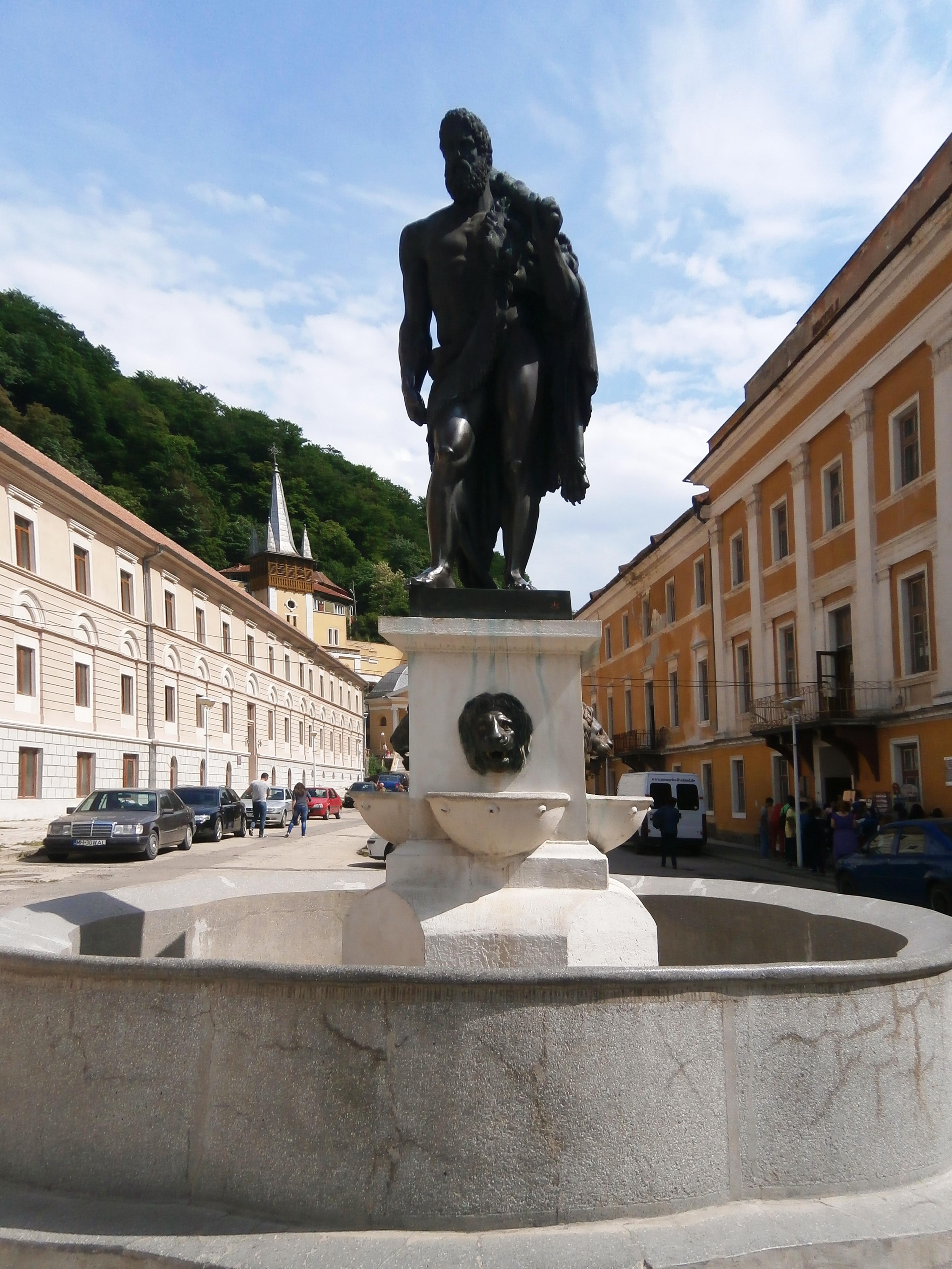 Statuia lui Hercules - Băile Herculane
