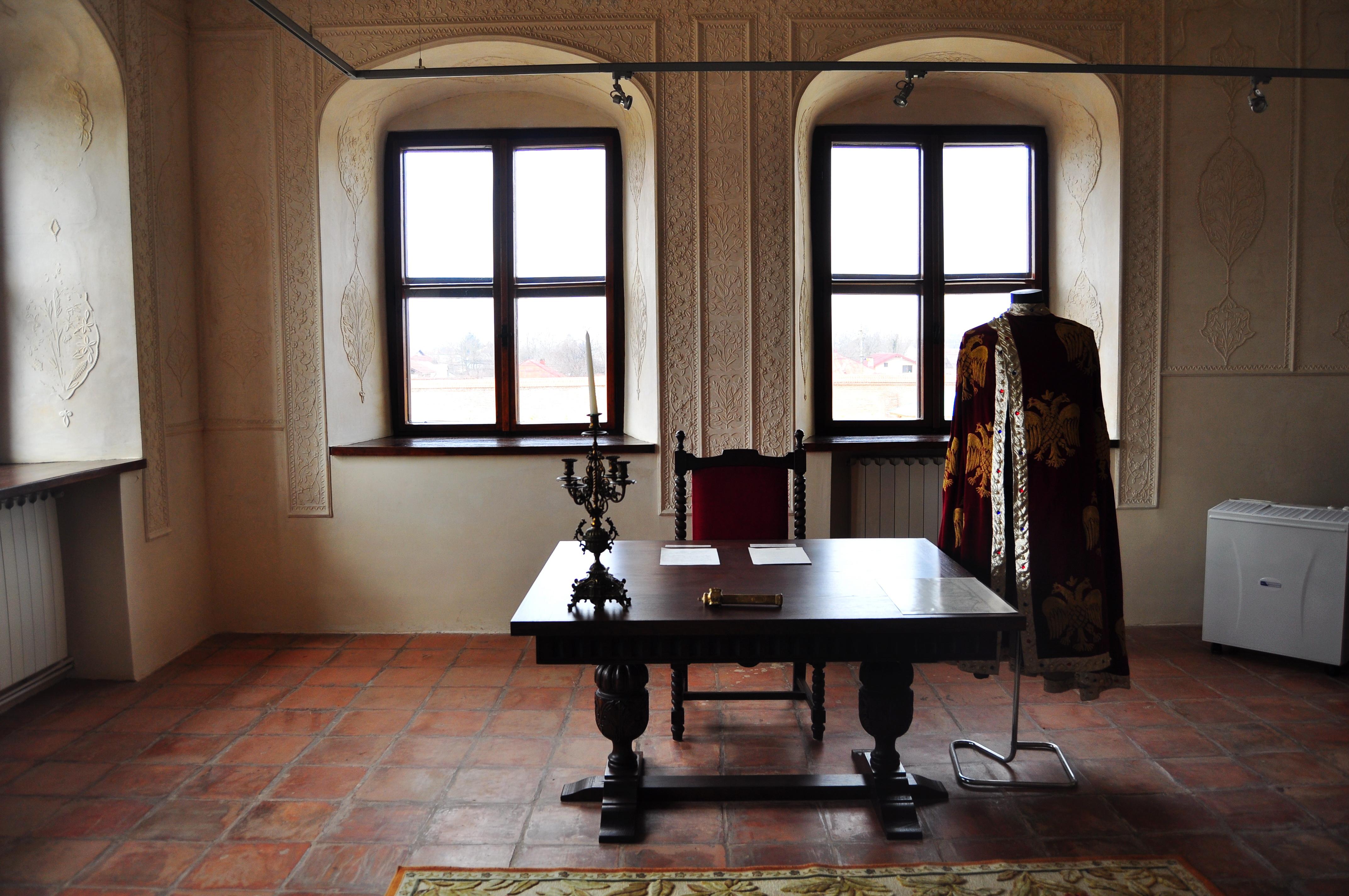 Interior Palat Potlogi