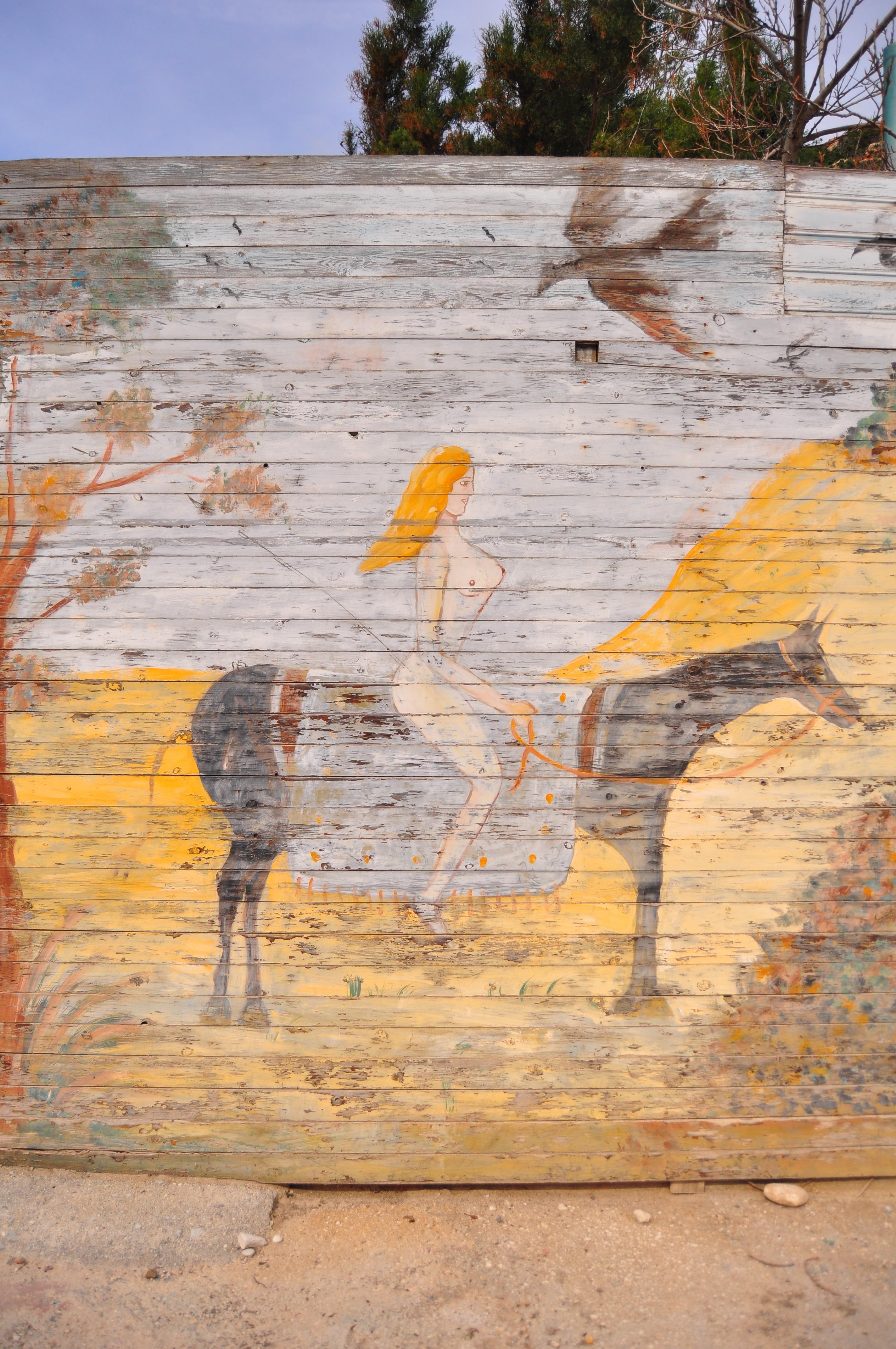 Una dintre urmaşele Afroditei. Drumul către Canion.