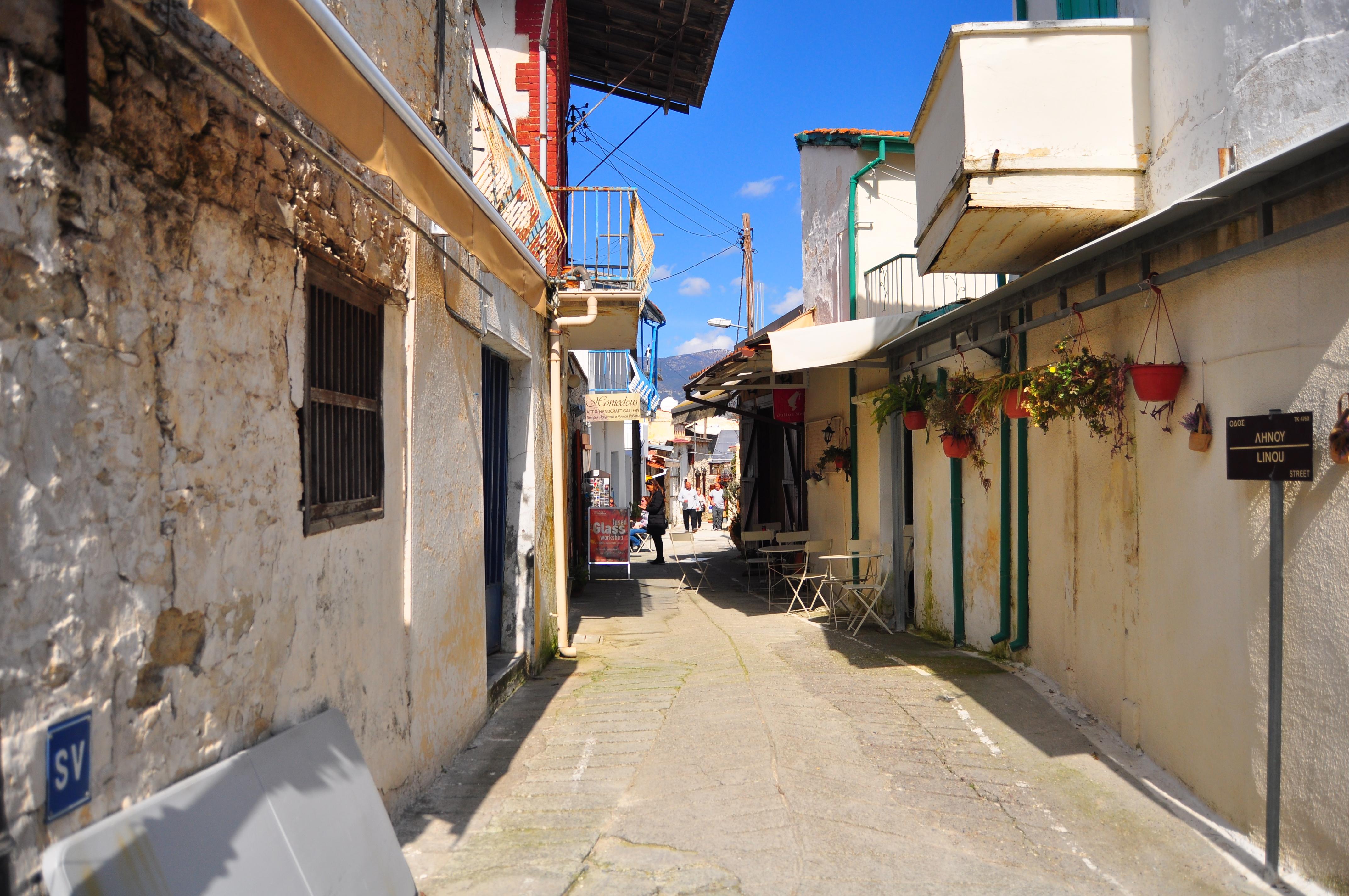 Satul tradiţional Omodos. Cipru
