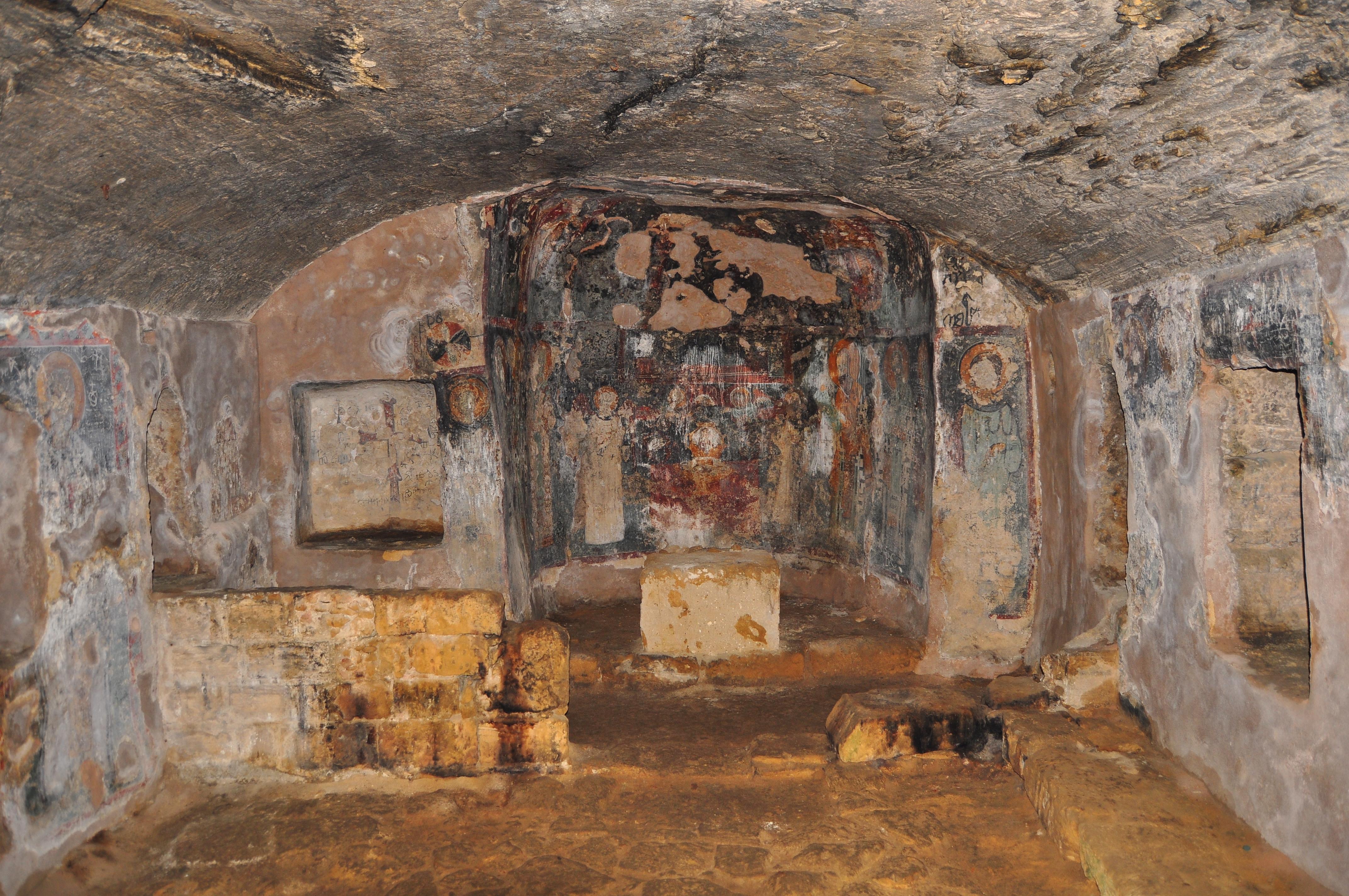 Picturi murale. Catacombe. Paphos