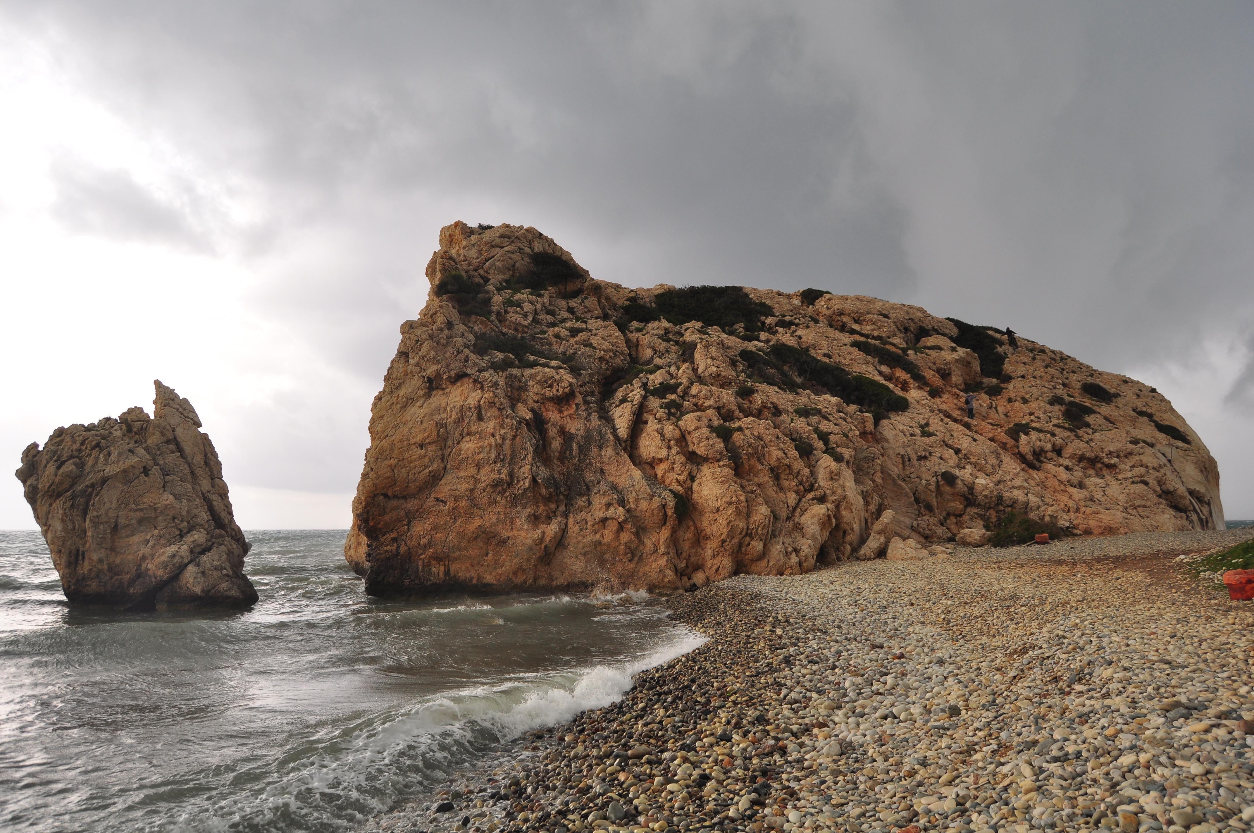 Stanca Afroditei. Petra tou Romiou. Cipru