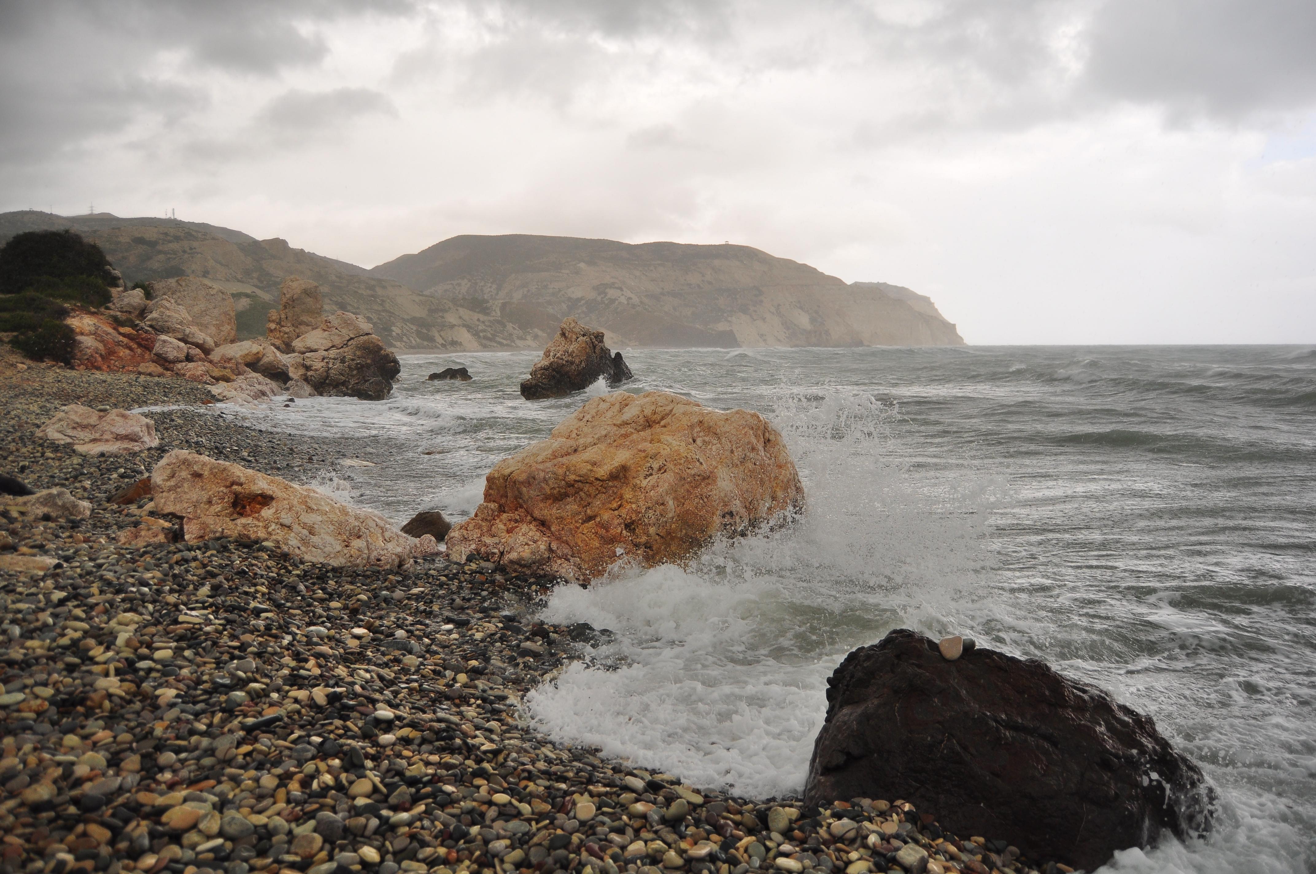 lângă Stanca Afroditei. Petra tou Romiou. Cipru
