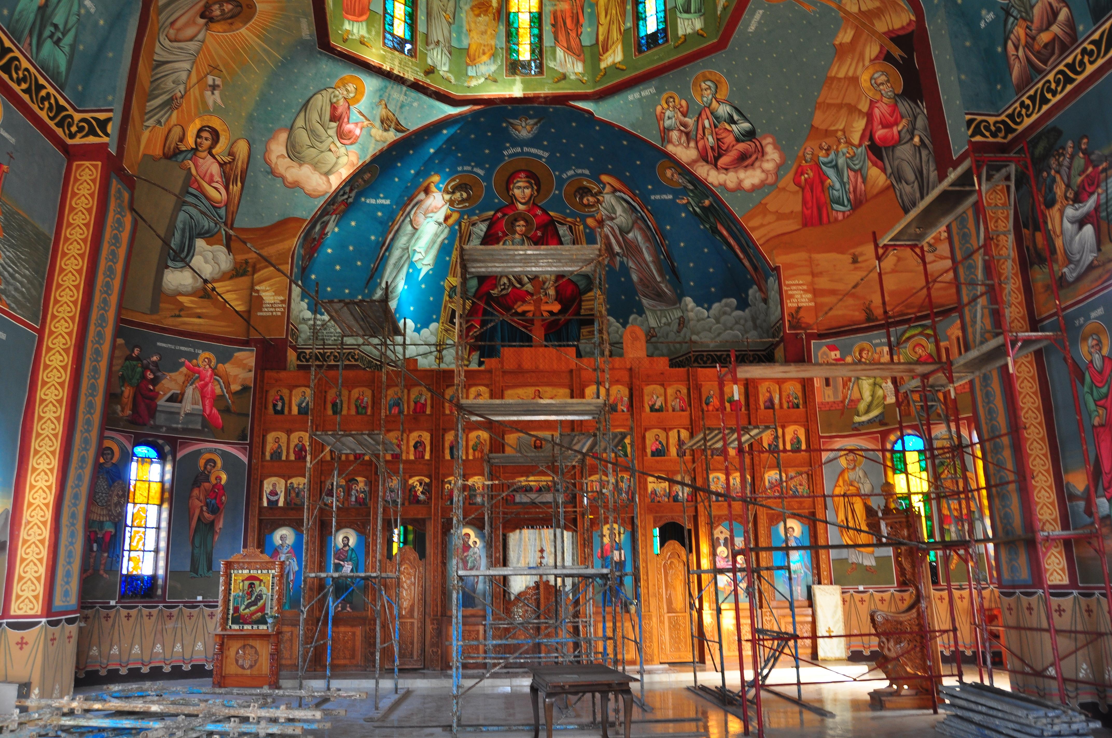 Mănăstirea Delta Neajlovului. Biserica nouă