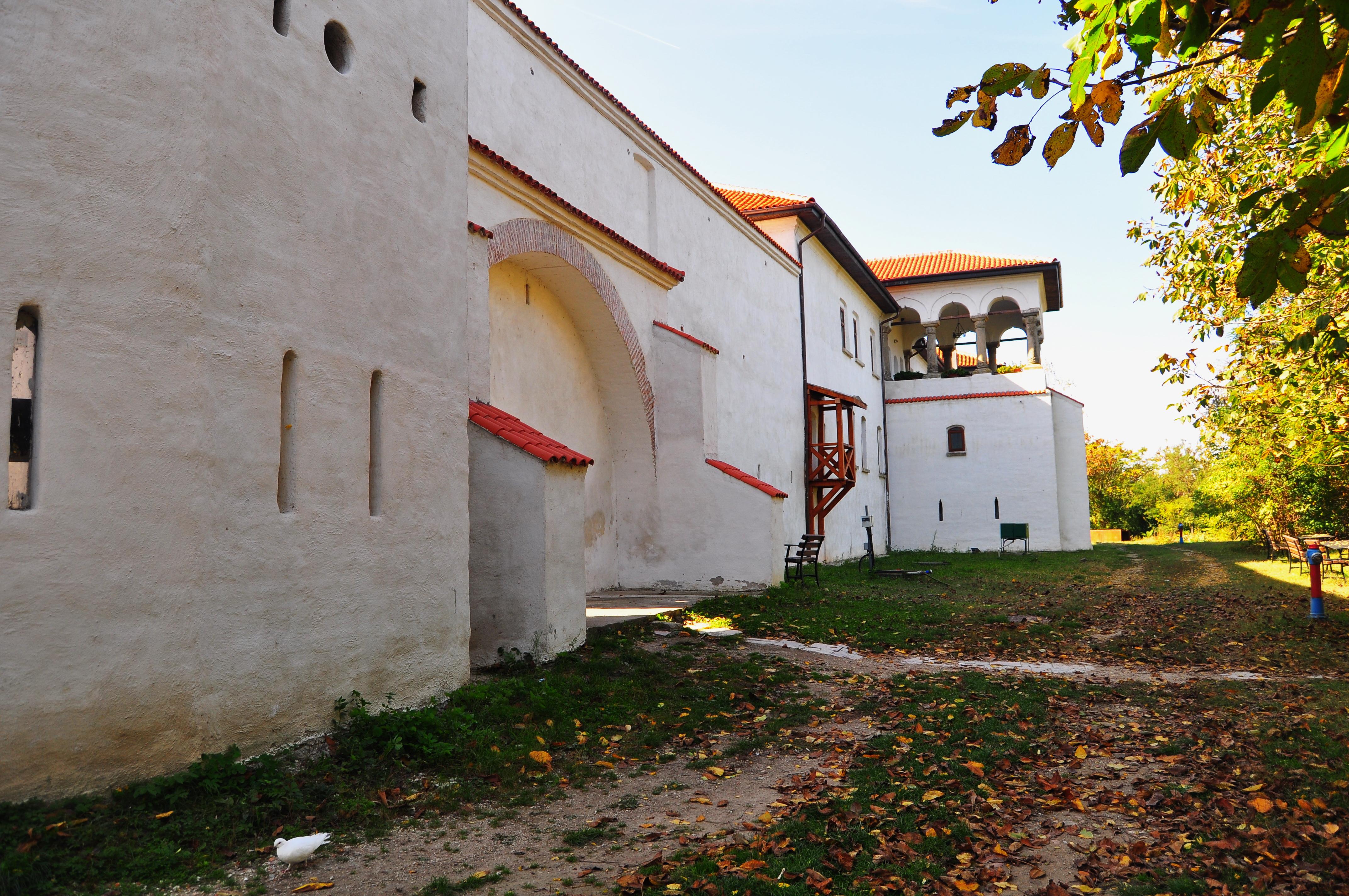 Mănăstirea Comana. Foișorul.