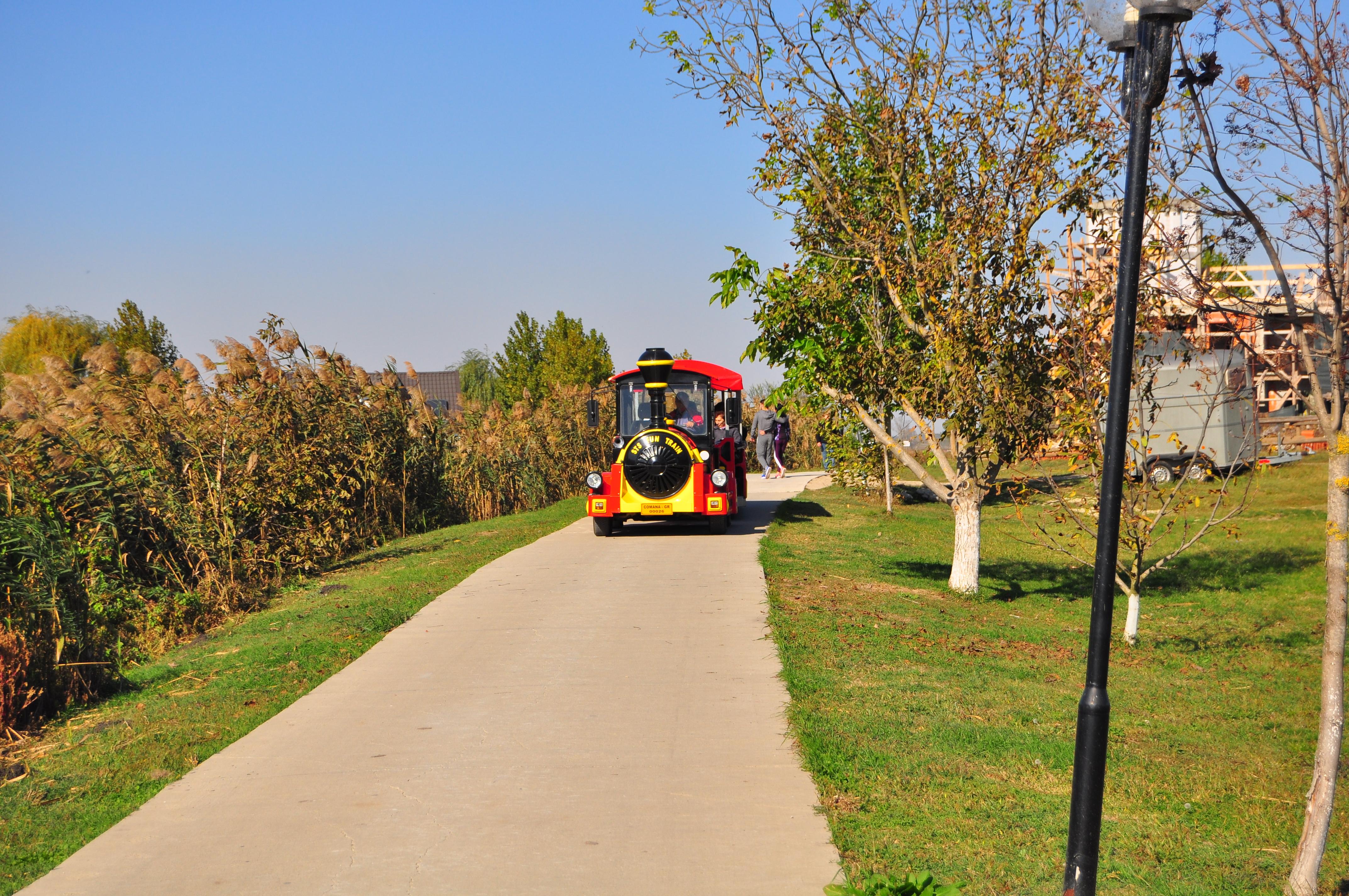 Orientul Express din Parcul de Aventură Comana