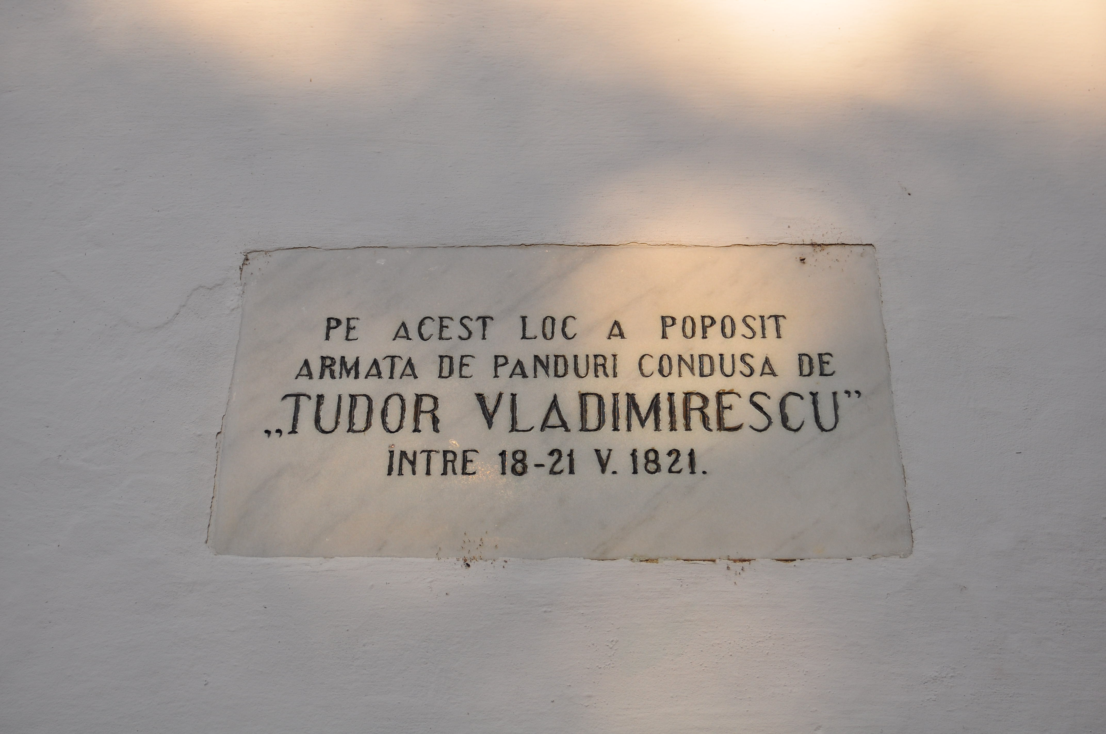 Foișorul de pază. Muzeul Golești