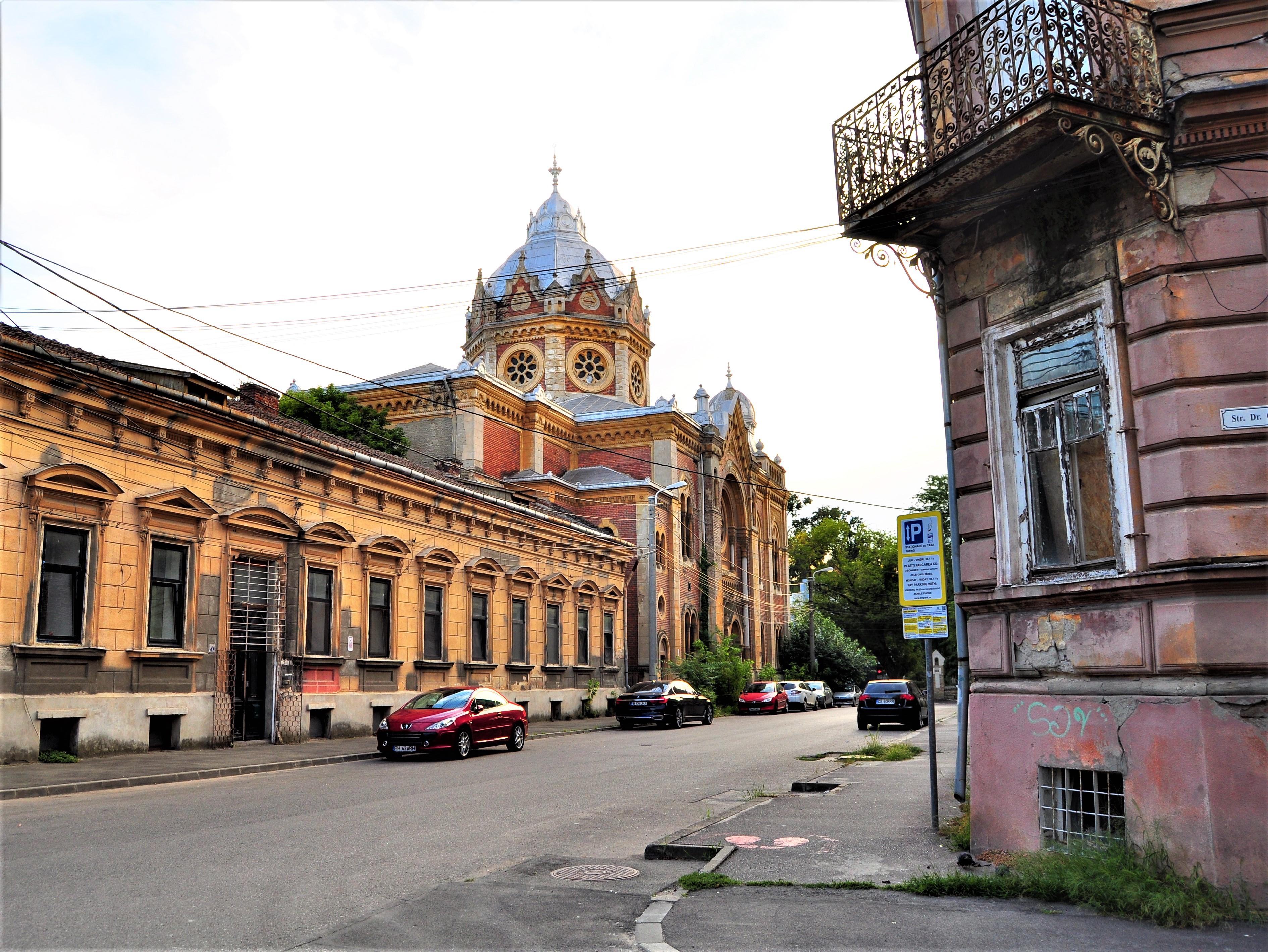 Sinagoga Nouă din (cartierul) Fabric. Timișoara