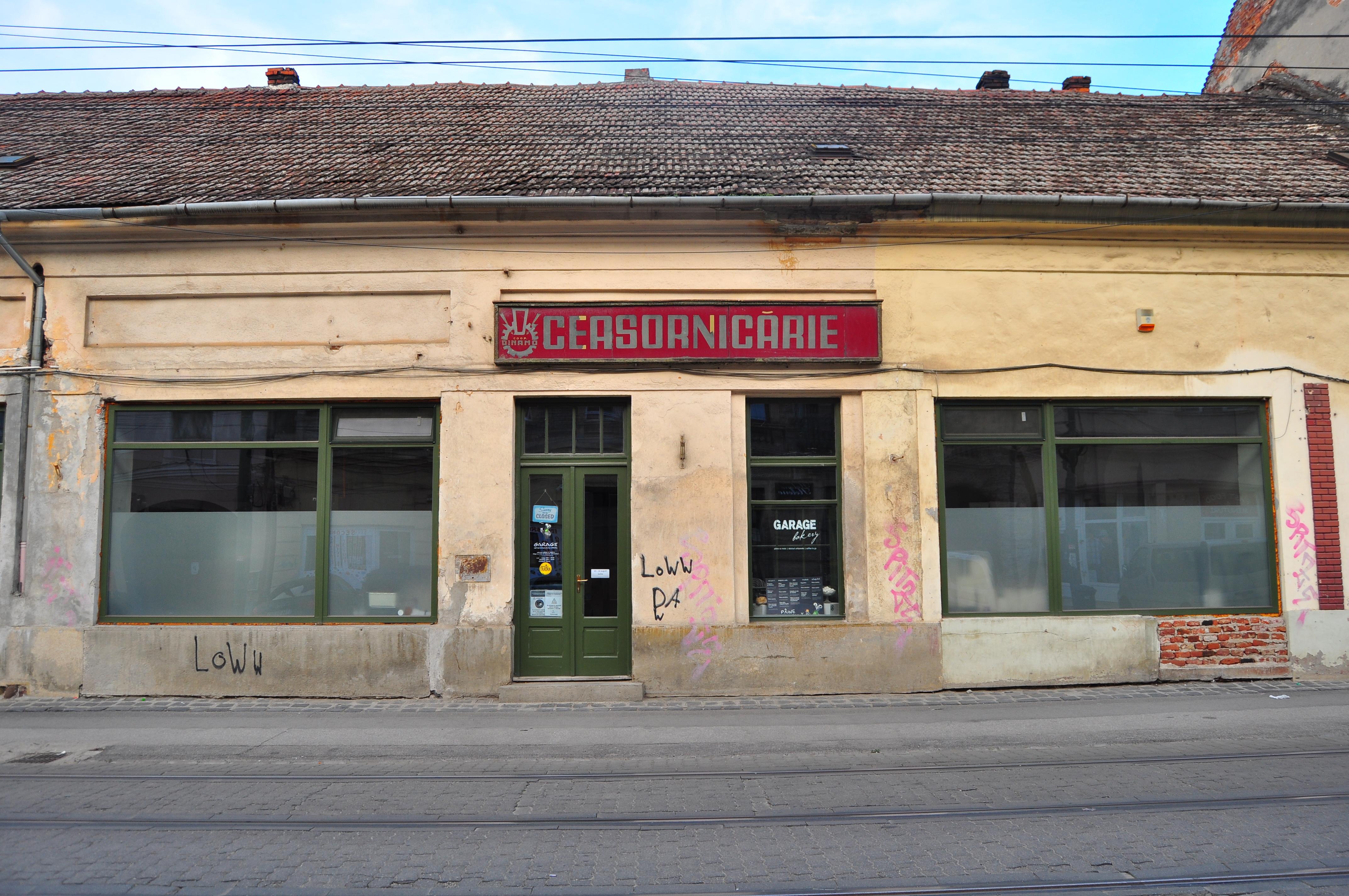 Strada Dacilor în apropiere de Piața Traian. Timișoara