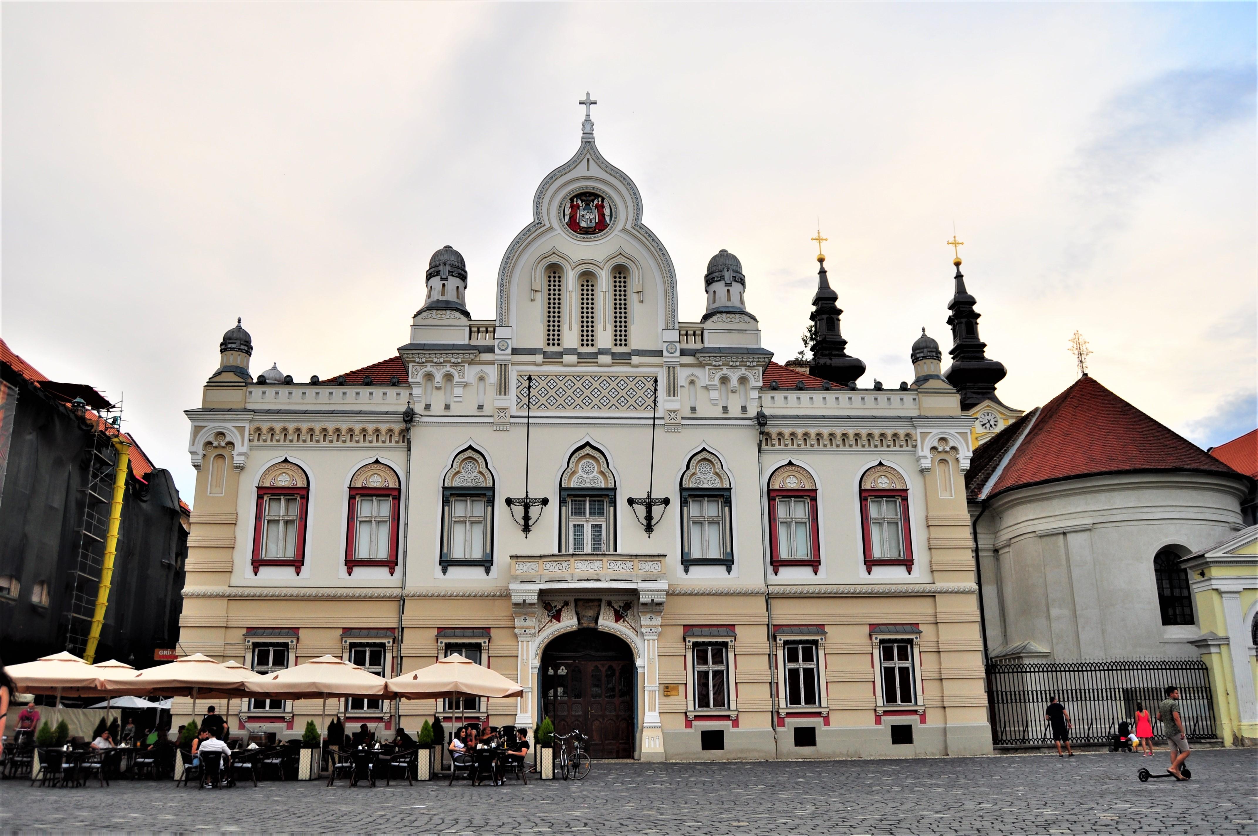 Palatul Episcopiei Ortodoxe. Timișoara.